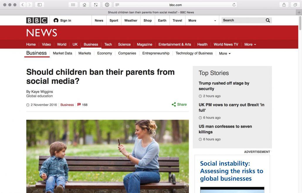Keine Kinderfotos im Social Web | Erwachsene Kinder kommentieren ...